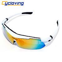 Окуляри Cycloving CS55 для спорту риболовлі водіння БІЛІ, фото 1