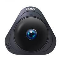 Панорамная IP-камера ESCAM Q8 960P 1.3MP 360° градусов - черный