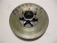 Малая, ребристая чашка сцепления для бензопилы Goodluck (Гудлак); z7, D71x68