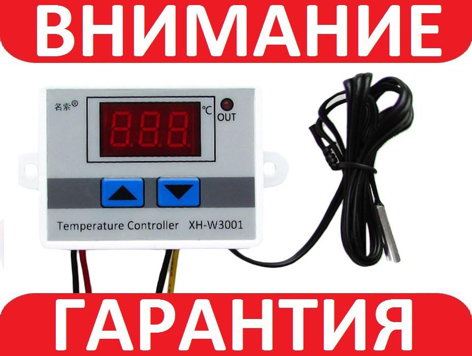 Терморегулятор XH-W3001 220В, фото 1