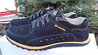 Мужские кожаные Кроссовки New Balance синие 40. 41. 42. 43. 44. 45
