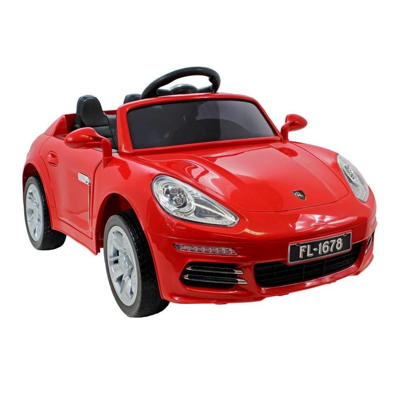Детский электромобиль FL 1678: EVA, MP3, пульт 2,4 G - Красный (код: 6808486439)- купить оптом
