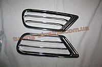 Накладки на задние воздуховоды из АБС пластика Carmos на Toyota LC 100 1998-2007