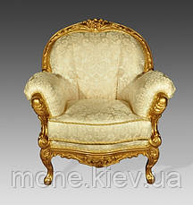 """Кресло""""Ника"""" с элементами ручной резьбы, фото 3"""