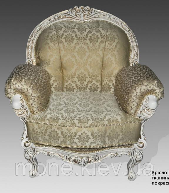 """Кресло""""Ника"""" с элементами ручной резьбы"""