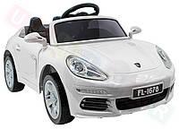 Детский электромобиль FL 1678: EVA, MP3, пульт 2,4 G - Белый (код: 6808486439)- купить оптом, фото 1
