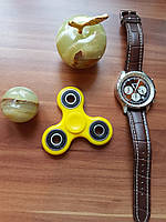 Спиннер с подшипниками  Желтый Hand spinner,  finger spinner Игрушка Антистресс