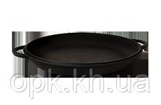 "Крышка- сковорода  чугунная ""Ситон"" Ø 400 мм""260 (вес -  3.6 кг)"