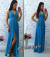 Легкое шифоновое платье