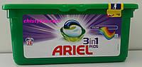 Капсулы для стирки Ariel Pods 3 в 1(для цветного белья) 28 шт.