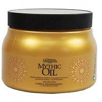 L'Oreal Professionnel Mythic Oil  Masque  Маска с маслами для нормальных и тонких волос, 500 мл