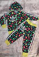 Детский спортивный костюм на девочку 3-7 лет