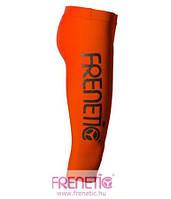 Капри оранжевые спортивные женские Frenetic бриджи велосипедки