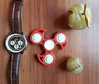 Спиннер Светящийся Красный New форма с шипами с подшипниками Hand spinner, finger spinner Игрушка