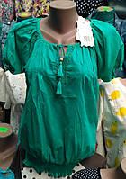 Летняя блуза на резинке (ботал)