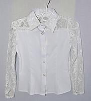 Блузка в школу для девочки  р.122-146