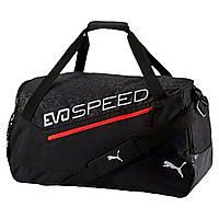 Сумка спортивная Puma EvoSpeed Medium Black Sports Bag Оригинал