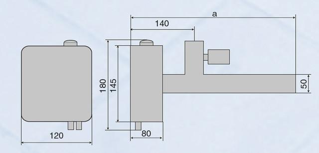 размеры электронагревателя для бассейна Vagner EOV–3–V