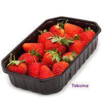 Упаковка для ягод Черная