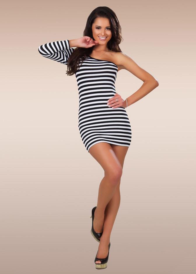 a2ae2a7086f Стильное короткое женское платье-туника