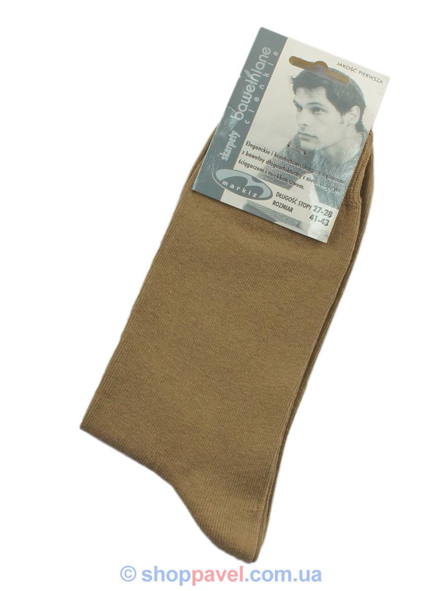 Шкарпетки чоловічі Markiz 016 бежеві Польща