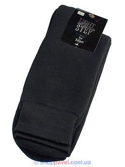 Теплые мужские носки Light Step 038 черные с махрой