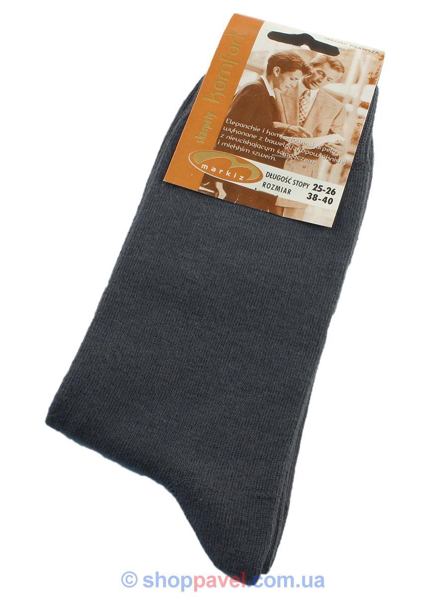 Носки мужские Markiz 018  демисезонные серые