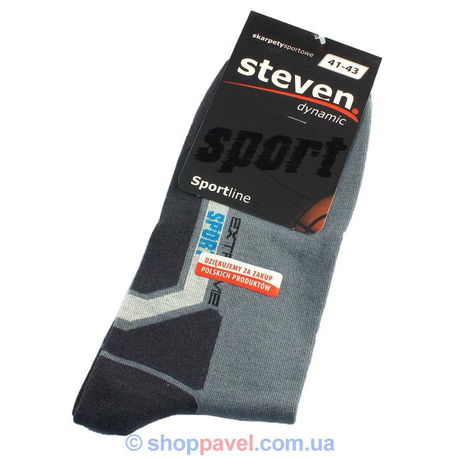 Спортивные мужские носки Steven 030 (комбинированных цветов)