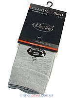 Носки мужские классические Derby 030 цвет серый
