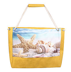 Пляжная сумка с морской звездой
