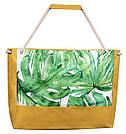 Пляжная сумка с листьями, фото 2