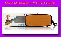 Минидинамик N10U,Портативный Беспроводной Стерео Спикер Динамик Поддержка SD Карта FM Радио!Акция