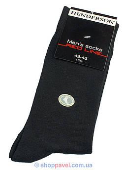Классические мужские носки Henderson 036 черные