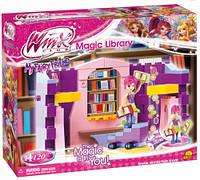 Конструктор Волшебная библиотека, серия Winx Club, Cobi (COBI-25121)