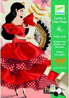 Художественный комплект шитье лентами Фламенко DJECO (DJ08674)
