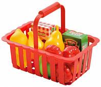 Корзина для супермаркета (красная), Ecoiffier, красн. (000981-1)