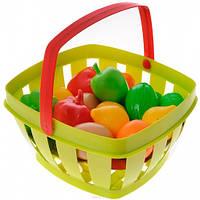 Корзина с продуктами (салатовая), Ecoiffier, салат (000966-2)