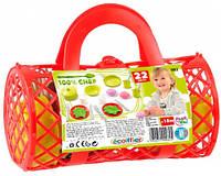 Набор посуды в сумке (красный), Ecoiffier, красн. (000982-1)