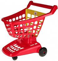 Тележка для супермаркета (красная), Ecoiffier, красн (001220-2)
