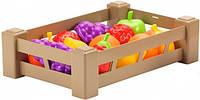 Урожай, ящик с фруктами, Ecoiffier, фрукты (000948-1)