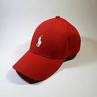 Кепка, бейсболка Polo Ralph Lauren (Красный)