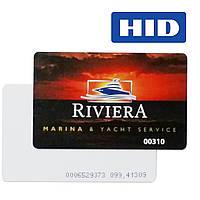 Печать на HID бесконтактных смарт-картах, картах доступа