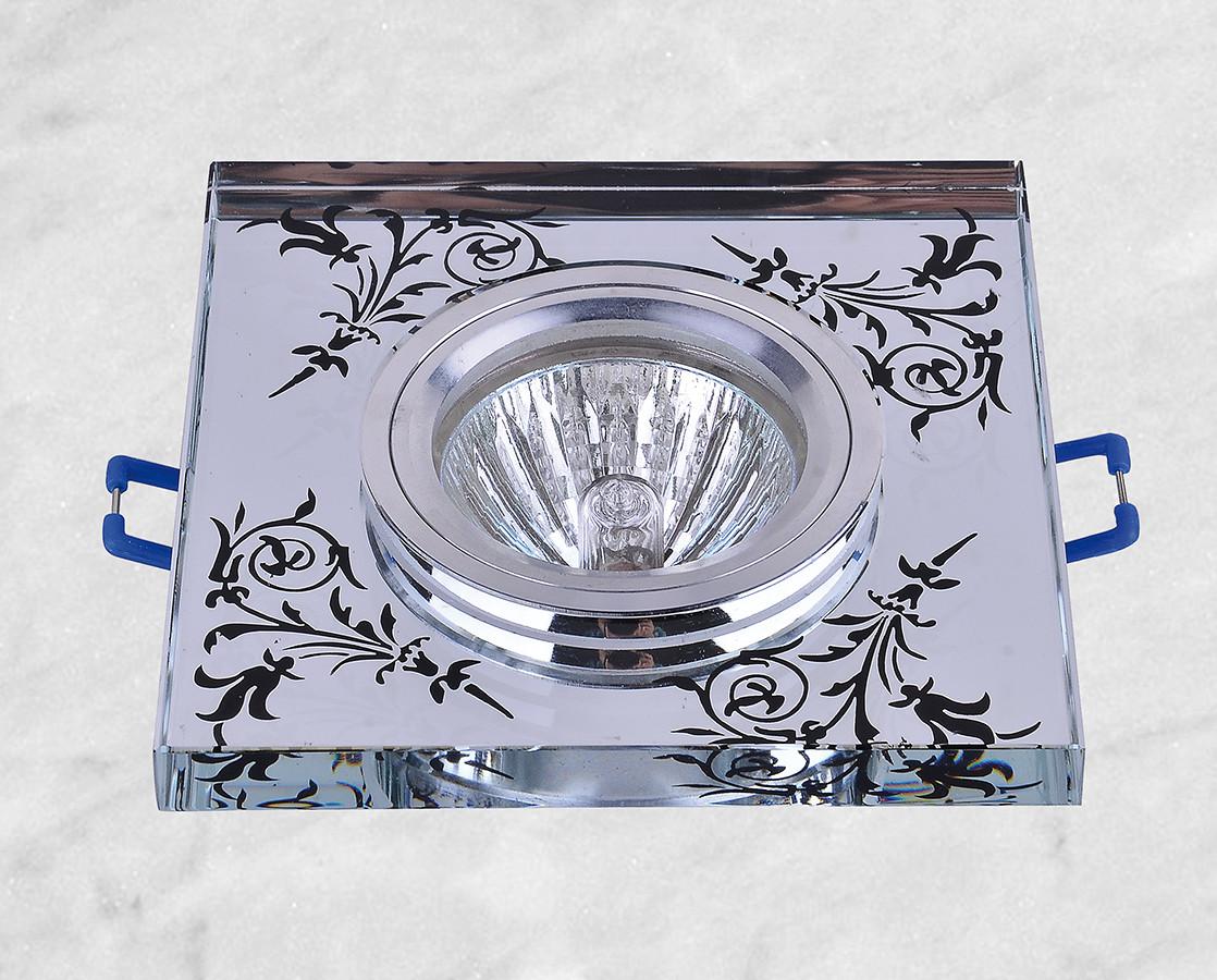 Точечный врезной светильник (05-386)