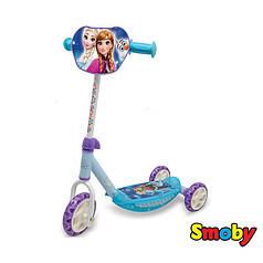 Дитячий самокат триколісний Smoby Принцеса Ельза 750136