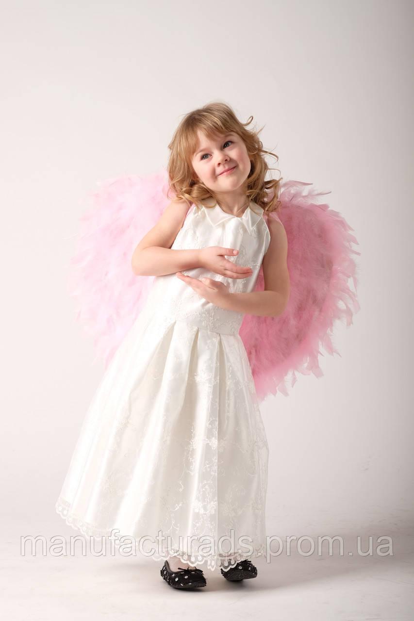 Белое Платье Нарядное Для Девочки Купить В