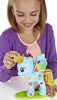 Стильный салон Рэйнбоу Дэш, набор с пластилином. My Little Pony (B0011)