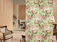 "Ткань для штор ""Цветочный Сад"" V3"