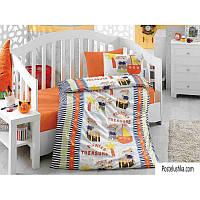 Комплект детского постельного белья Cotton Box Bebek Hazine Orange