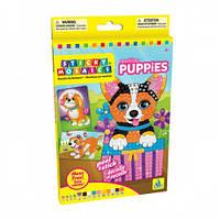 Яркие щенки, стикерная мозаика, Orb Factory  (70236), фото 1
