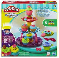 Башня из кексов - набор для творчества с пластилином, Play-Doh (A5144)